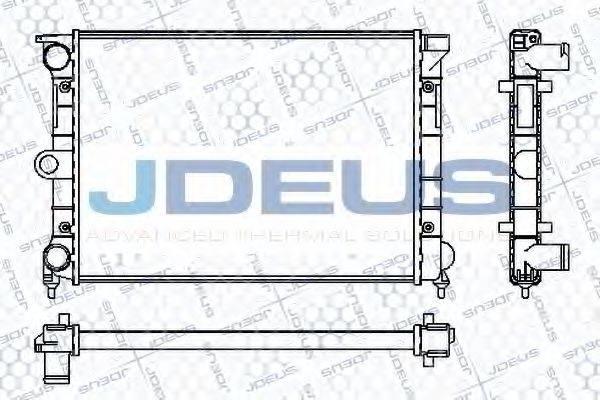 JDEUS RA0300330 Радиатор охлаждения двигателя