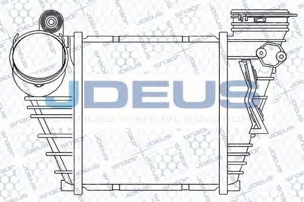 JDEUS 801M05A Интеркулер