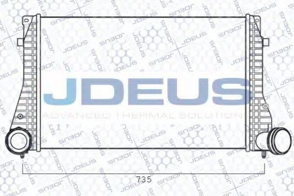 JDEUS 825M28A Интеркулер