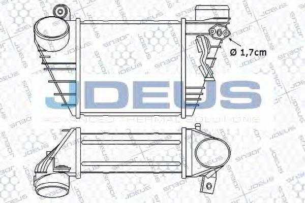 JDEUS 801M04A Интеркулер
