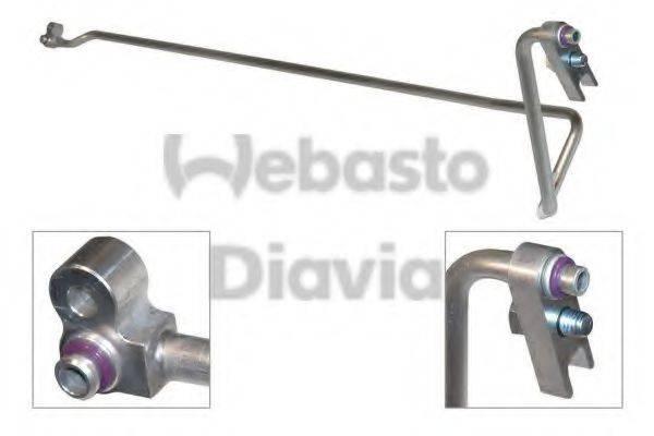 WEBASTO 82D0796596A Трубопровод высокого / низкого давления, кондиционер