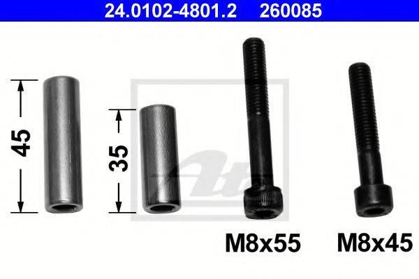 ATE 24010248012 Комплект направляющей гильзы