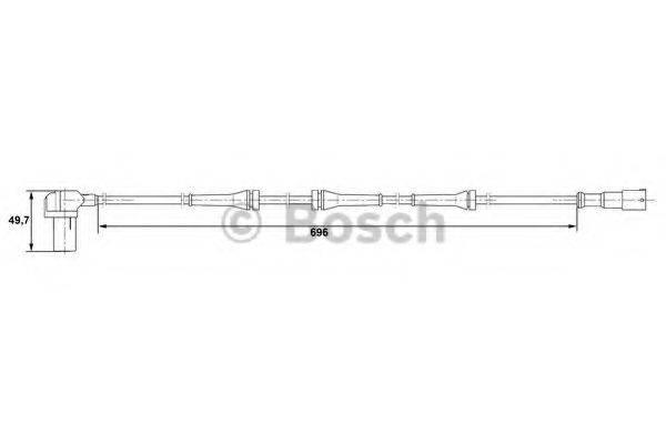 BOSCH 0265006408 Датчик АБС