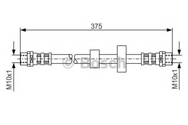 BOSCH 1987476698 Тормозной шланг