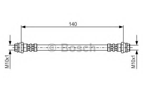 BOSCH 1987476952 Тормозной шланг