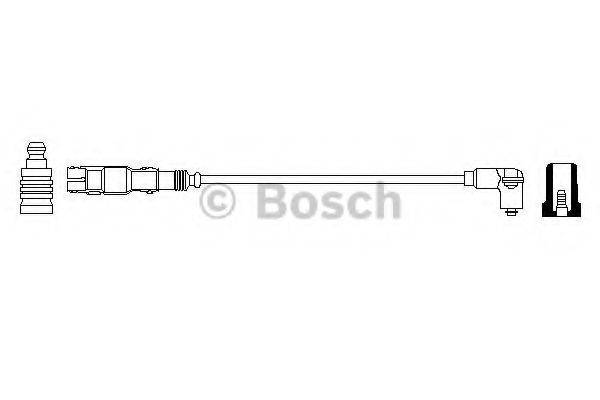 BOSCH 0986357714 Провод зажигания