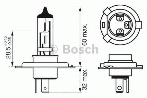 BOSCH 1987302048 Лампа накаливания