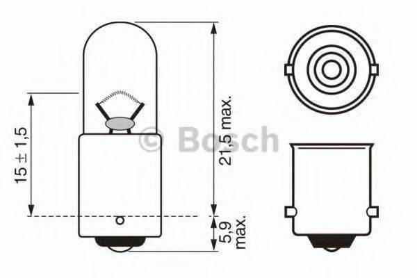BOSCH 1987302207 Лампа накаливания