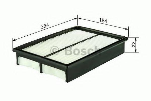BOSCH 1457433081 Воздушный фильтр
