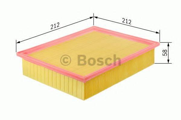BOSCH 0986626800 Воздушный фильтр