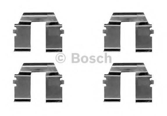 BOSCH 1987474629 Комплектующие, колодки дискового тормоза