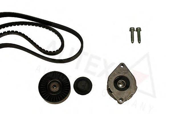 AUTEX 702399 Поликлиновой ременный комплект