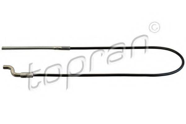 TOPRAN 114335 Трос, стояночная тормозная система