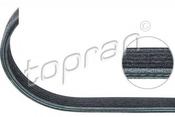 TOPRAN 109659 Поликлиновой ремень