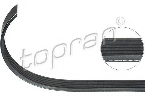 TOPRAN 109658 Поликлиновой ремень
