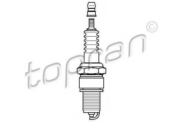 TOPRAN 205043 Свеча зажигания