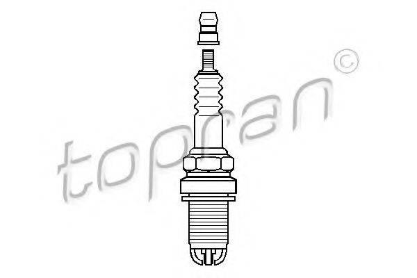 TOPRAN 108954 Свеча зажигания