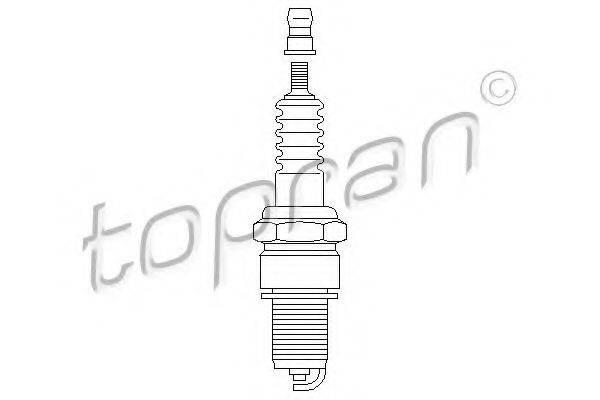 TOPRAN 109950 Свеча зажигания