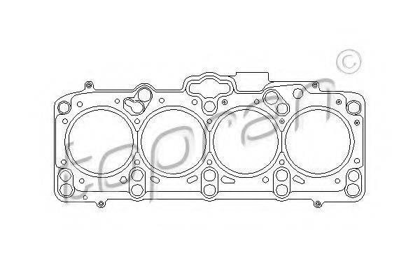 TOPRAN 109358 Прокладка головки блока цилиндров