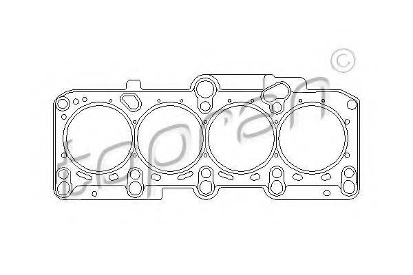 TOPRAN 101109 Прокладка головки блока цилиндров