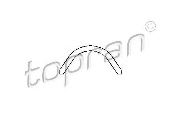 TOPRAN 101050 Прокладка клапанной крышки