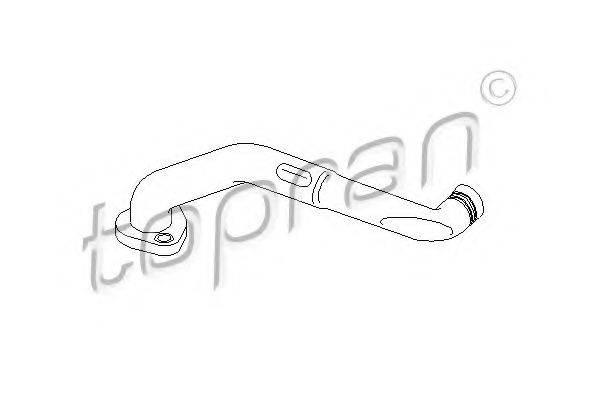 TOPRAN 110339 Шланг, воздухоотвод крышки головки цилиндра