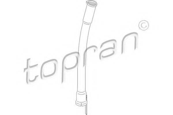 TOPRAN 108035 Воронка, указатель уровня масла