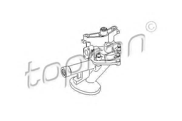 TOPRAN 110739 Масляный насос