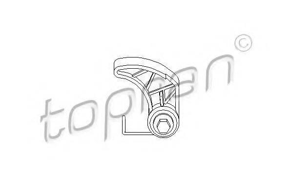 TOPRAN 109612 Натяжное устройство цепи, привод масляного насоса