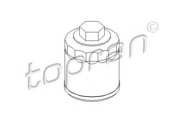 TOPRAN 107694 Фильтр масляный ДВС