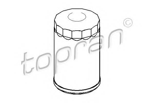 TOPRAN 100653 Фильтр масляный ДВС