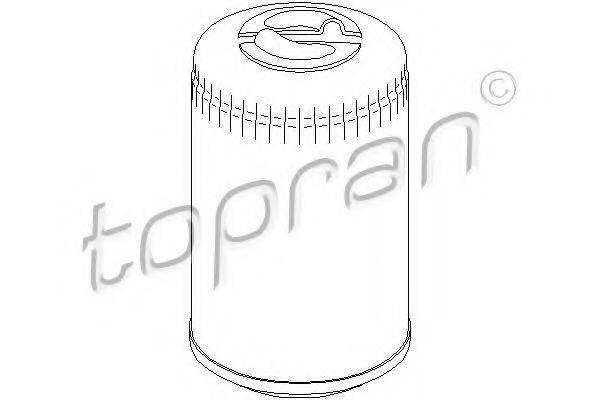 TOPRAN 101447 Фильтр масляный ДВС