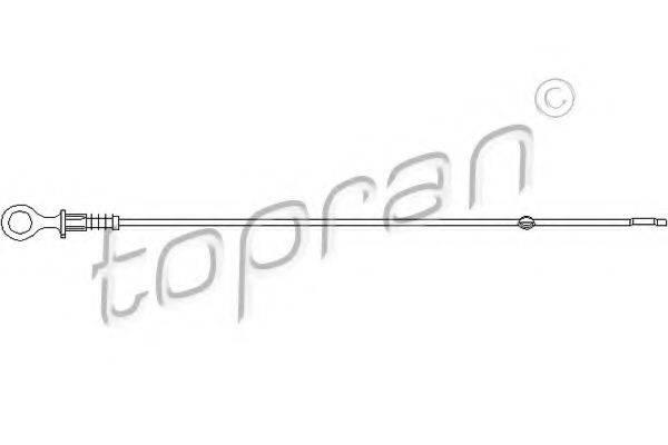 TOPRAN 111404 Щуп масляный