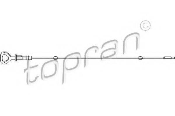 TOPRAN 109301 Щуп масляный