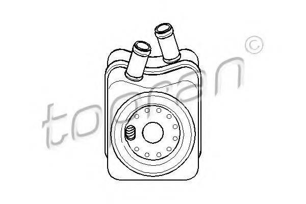 TOPRAN 108907 Масляный радиатор