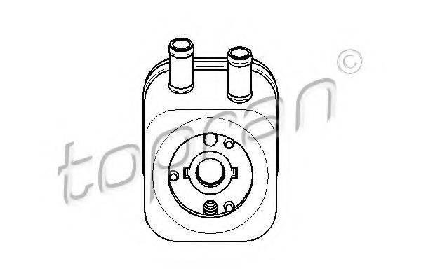 TOPRAN 110495 Масляный радиатор