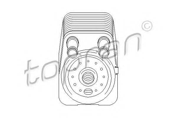 TOPRAN 112203 Масляный радиатор