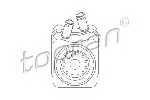 TOPRAN 101448 Масляный радиатор