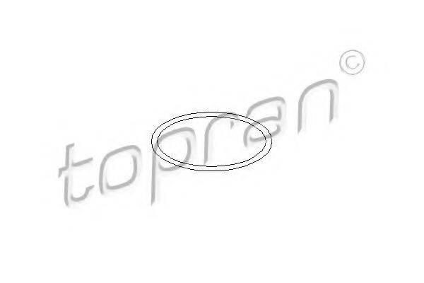 TOPRAN 100571 Прокладка, водяной насос
