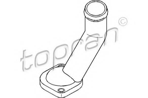 TOPRAN 108189 Фланец охлаждающей жидкости