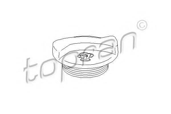 TOPRAN 103451 Крышка расширительного бачка