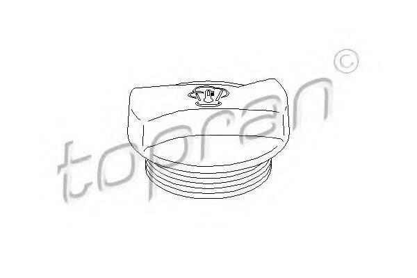 TOPRAN 107532 Крышка расширительного бачка