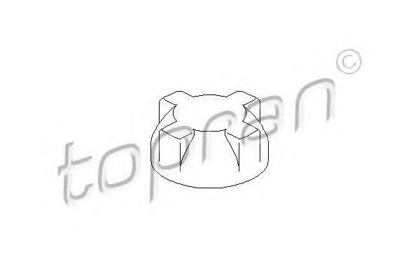 TOPRAN 103643 Крышка расширительного бачка