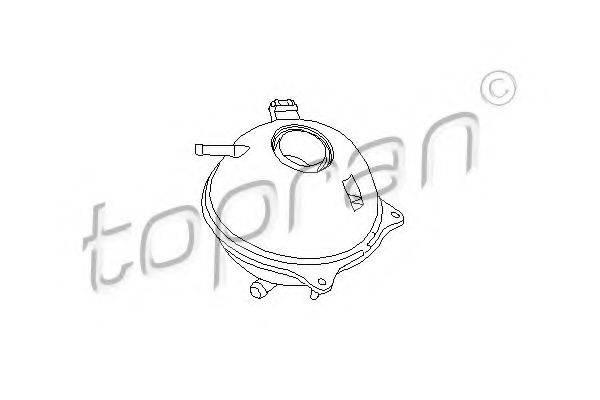 TOPRAN 103006 Расширительный бачок