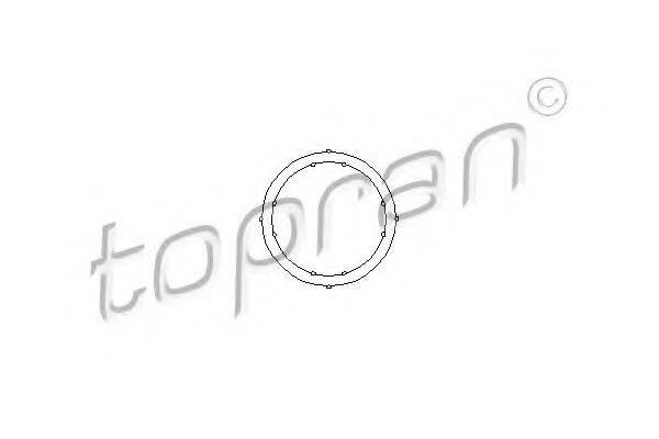 TOPRAN 100721 Прокладка, фланец охлаждающей жидкости