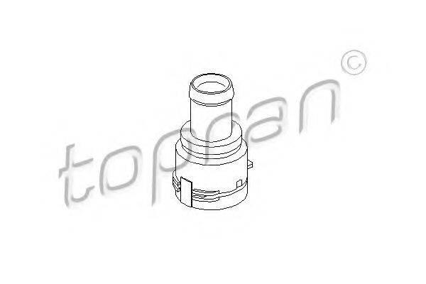 TOPRAN 111241 Фланец охлаждающей жидкости