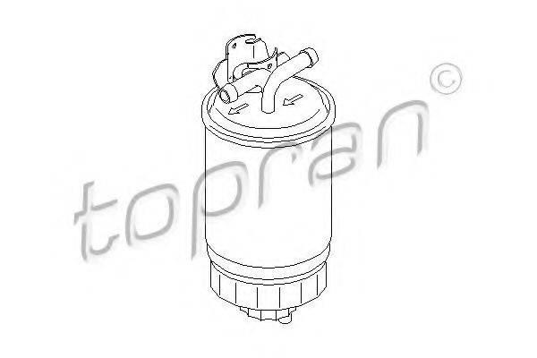 TOPRAN 102732 Топливный фильтр