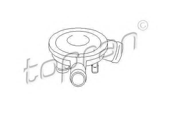 TOPRAN 111562 Клапан отвода воздуха из картера