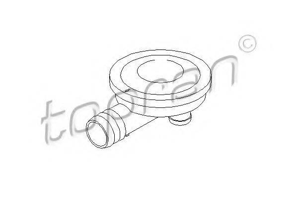 TOPRAN 113299 Клапан отвода воздуха из картера