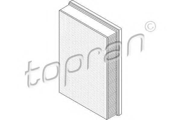 TOPRAN 105764 Воздушный фильтр
